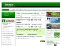 Europcar - Mobilitätsdienstleistung weltweit