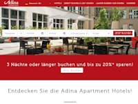 Adina Apartment Hotels | Apartment Space. Hotel Service. Adina Style